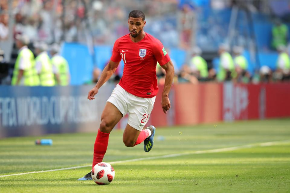Loftus-Cheek was one of Gareth Southgate's 23-man squad who helped England reach the World Cup semi-final