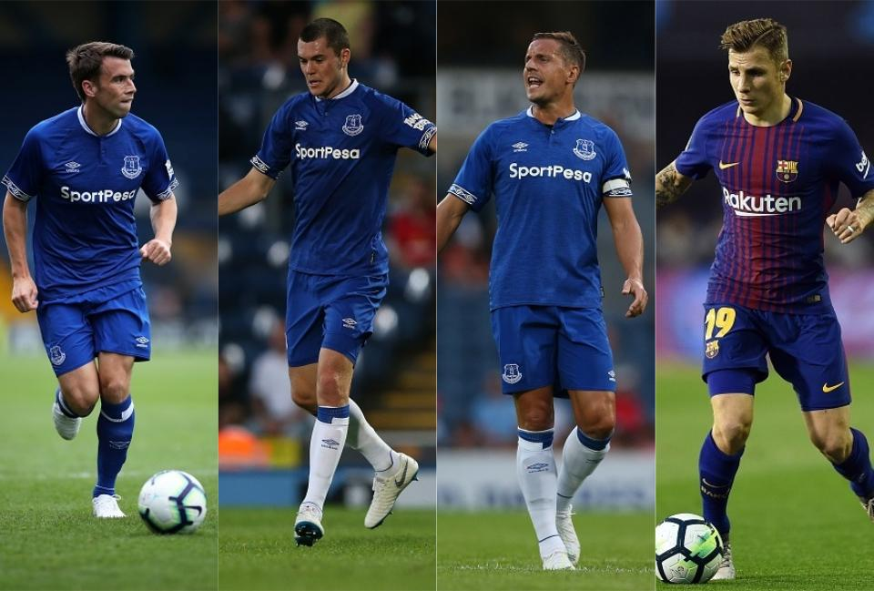 DEFENCE: Seamus Coleman, Michael Keane, Phil Jagielka, Lucas Digne  How Everton could look in the 2018/19 season including Richarlison, Lucas Digne and Denis Cheryshev everton defence