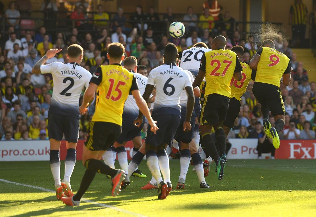 Deeneys leveller helped Watford claim the famous win