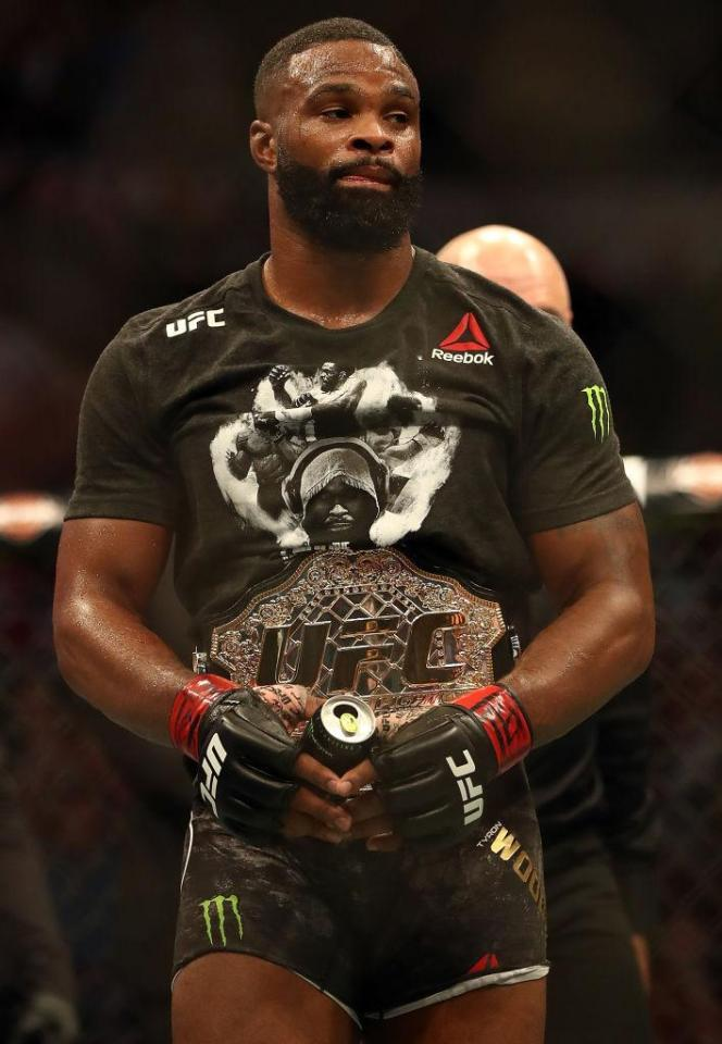 Tyron Woodley is one of the best welterweight champions of all time