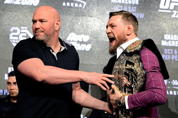 White ve McGregor her zaman göz göze gelmediler ama orada kesinlikle karşılıklı saygı var