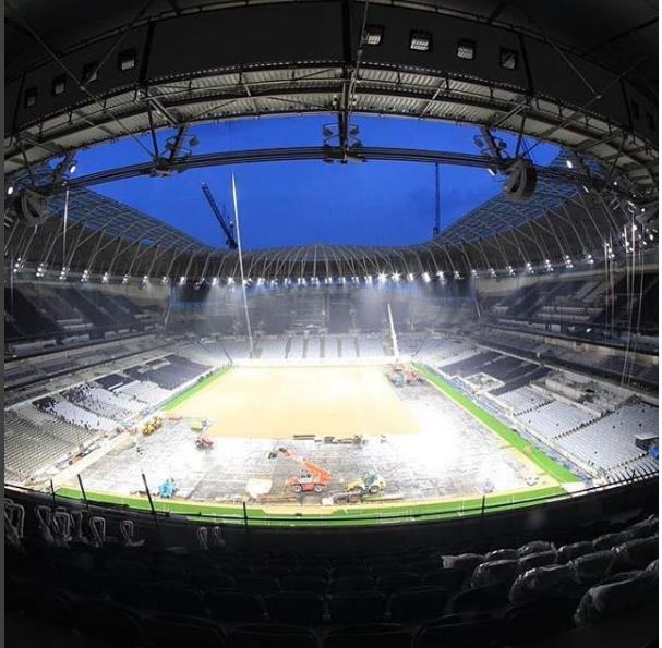 The stadium has been beset by complications such as floods