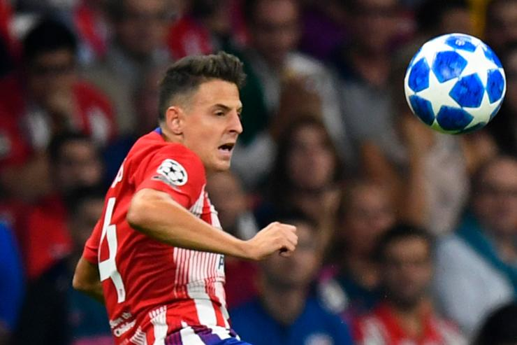 The right-back is far from a permanent fixture in Atleti's side