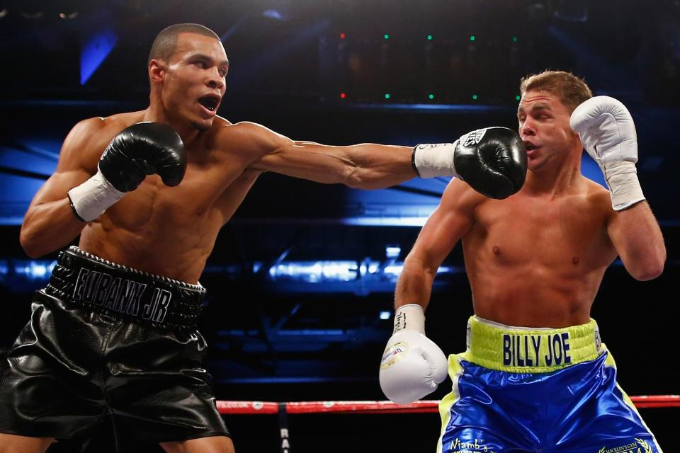 Saunders defeated Eubank Jr by split decision in their 2014 retaliation
