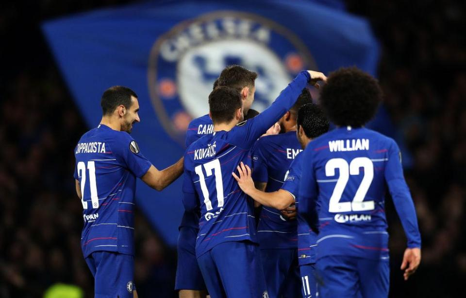 An under-strength Chelsea barely broke sweat against BATE  Brilliant Ruben Loftus-Cheek hat-trick helps Blues coast to Europa League win GettyImages 1053438080