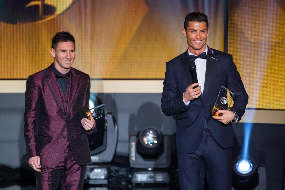 Ronaldo and Messi have won five Ballond'Or's apiece  Mohamed Salah, Paul Pogba and Eden Hazard from the Premier League make 30-man list GettyImages 461440006