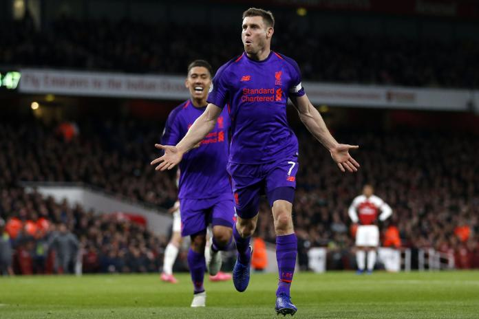 Liverpool star James Milner will be out of contract this summer