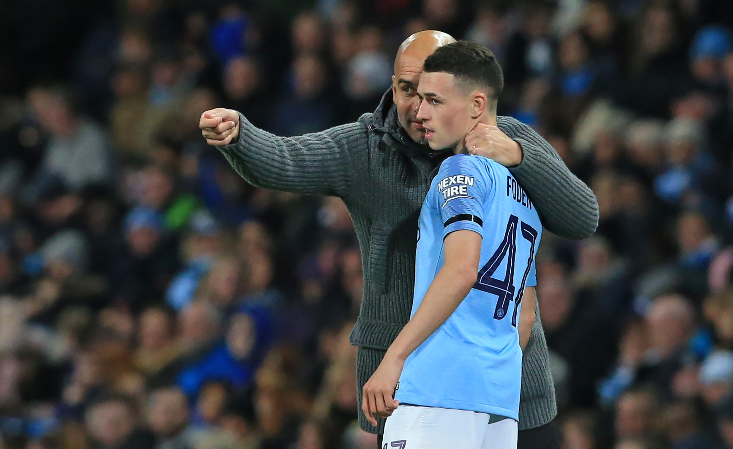 Pep Guardiola has carefully managed the development of Phil Foden at Manchester City