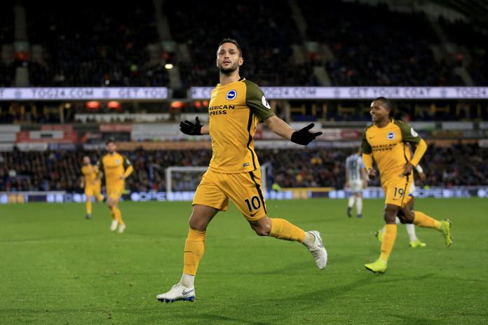 Florin Andone scored the winner for Brighton at the weekend