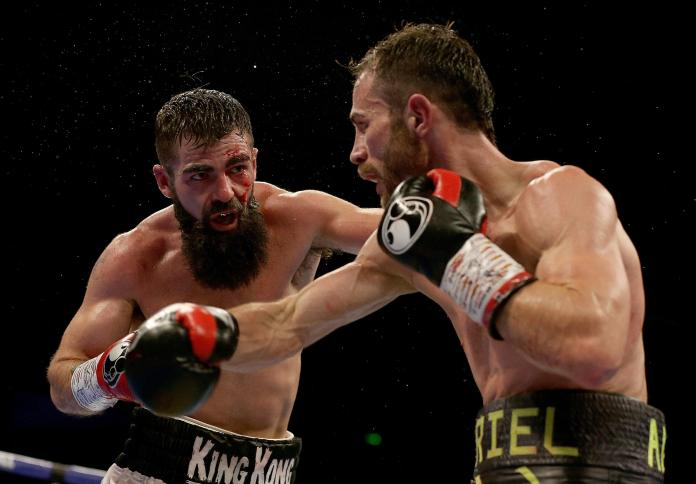 Jono Carroll and Guillaume Frenois fought to a split-decision draw