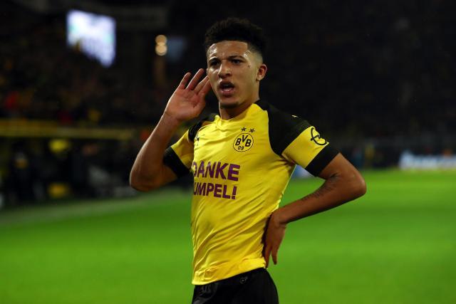 Jadon Sancho has thrived at Borussia Dortmund