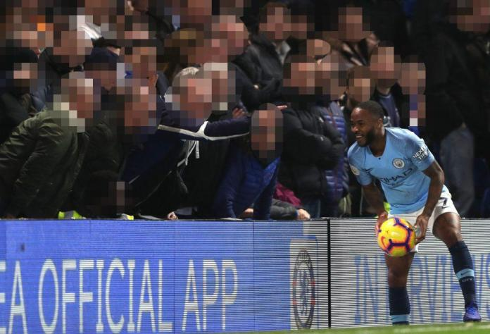 Raheem Sterling was reportedly racially abused in the first half of the year