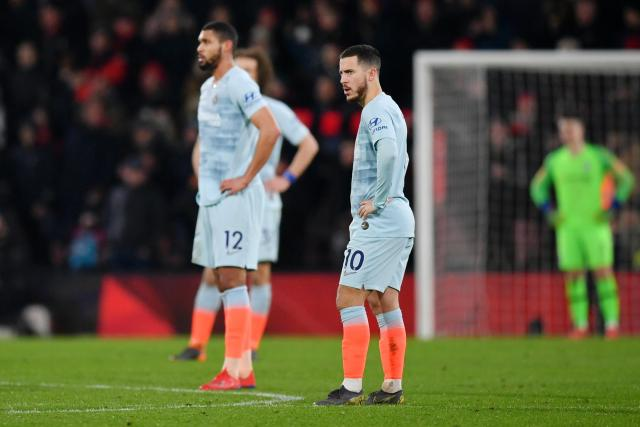 Eden Hazard, in particular, was reportedly given a hard time by Maurizio Sarri after Chelsea's 4-0 defeat to Bournemouth