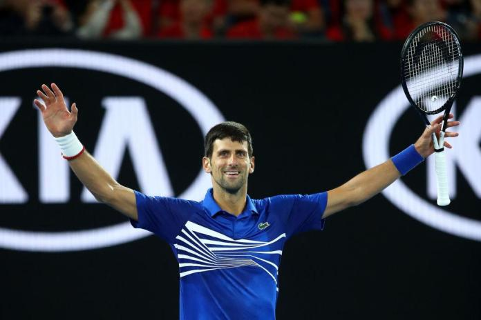 It was a day for making history for Djokovic