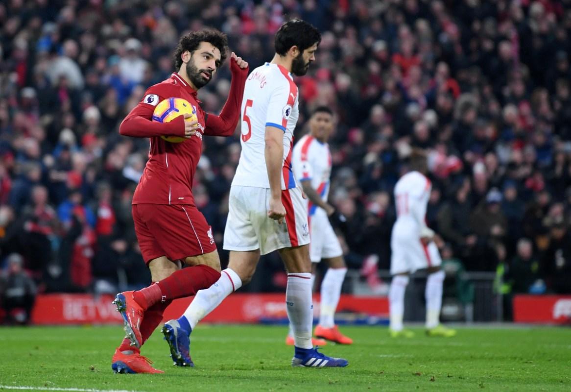 Liverpool 4 3 Crystal Palace Mohamed Salah Goals Brings