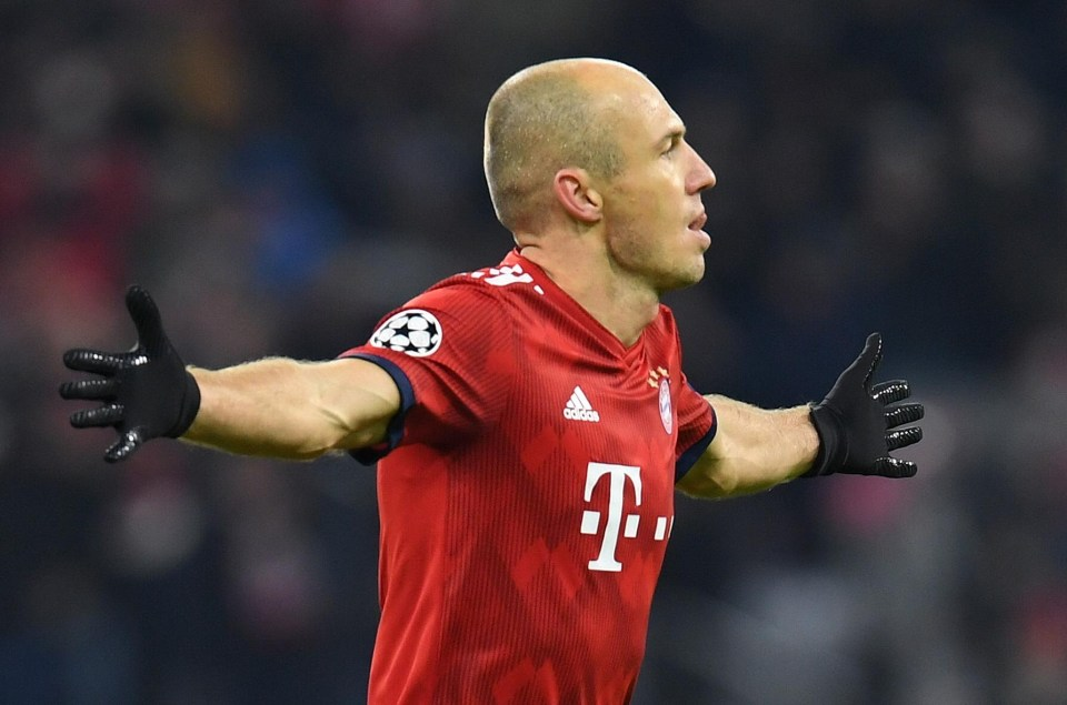 Arjen Robben Future Leicester City Become Favourites To