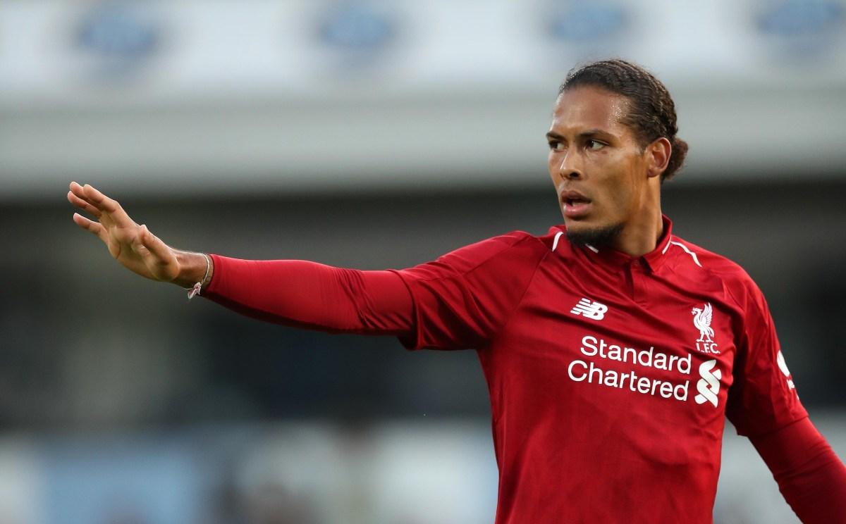 Liverpool News Jurgen Klopp Hopeful Virgil Van Dijk Will