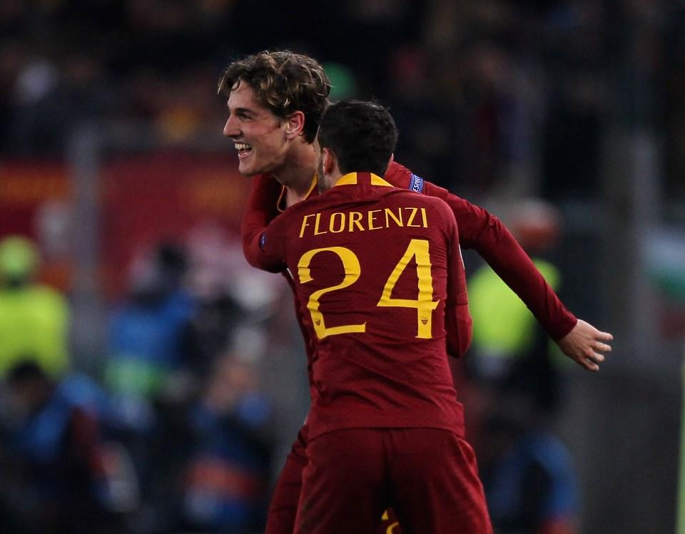 Roma 2 1 Porto Nicolo Zaniolo Double Gives Italian Club