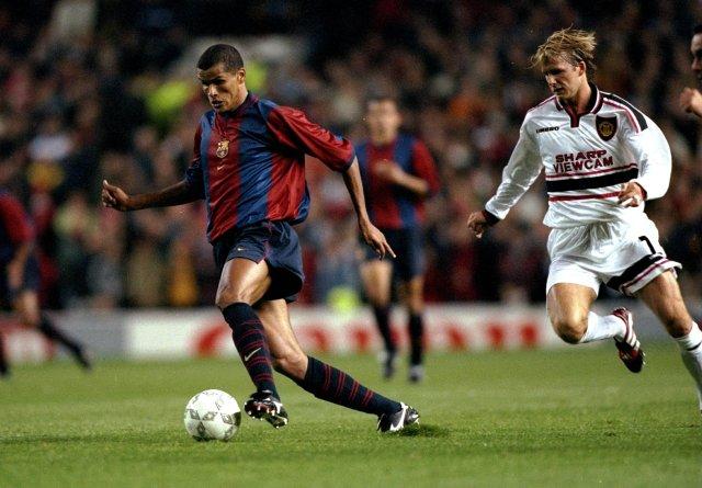 Rivaldo wearing the original version in 1998