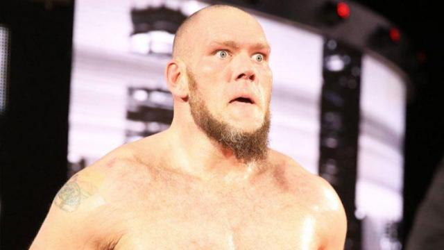 Lars Sullivan was set for a big push in WWE before his anxiety attack