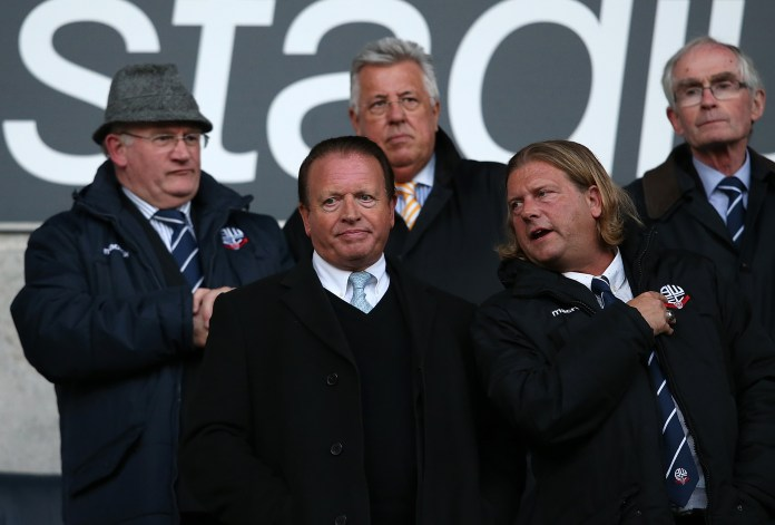 Former Bolton chairman Ken Anderson has been hammered for his handling of the club's finances
