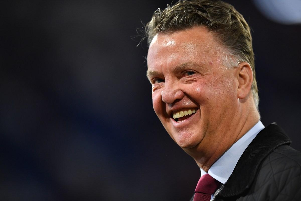 Former Manchester United Boss Louis Van Gaal Announces