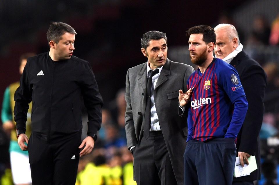 Barcelona Coach Ernesto Valverde Claims Lionel Messi