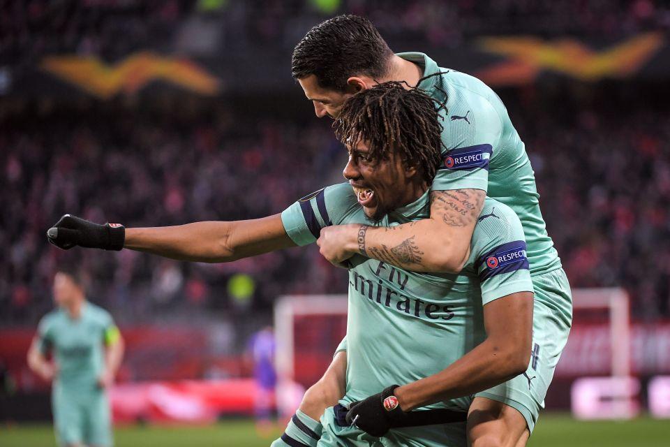 Arsenal star Alex Iwobi scored against Rennes last week