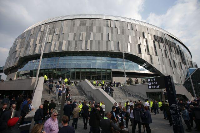 Tottenham's new stadium has a capacity of 62,062