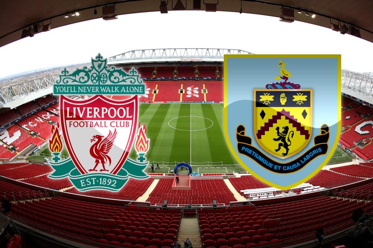 Liverpool Vs Burnley Live On Talksport Teams Confirmed