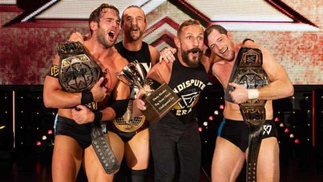 Undisputed Era – Roderick Strong, Adam Cole, Bobby Fish and Kyle O'Reilly