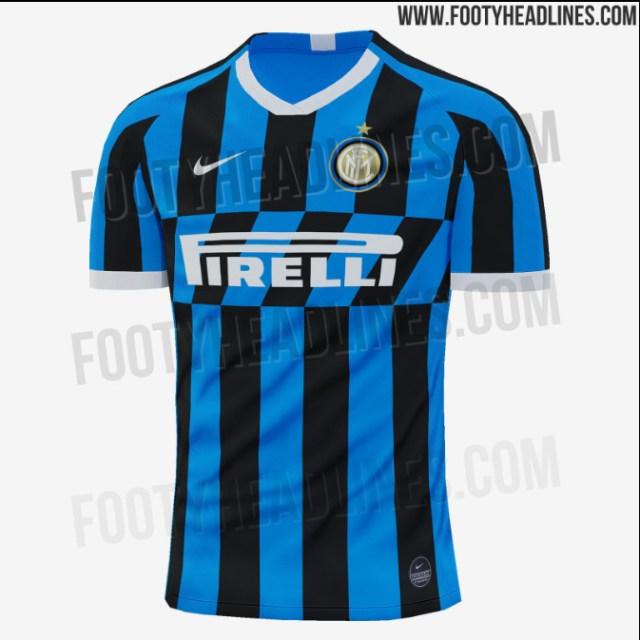 af292ed5192 Inter Milan 2019/20 home kit: Leaked Nike strip will evoke memories ...