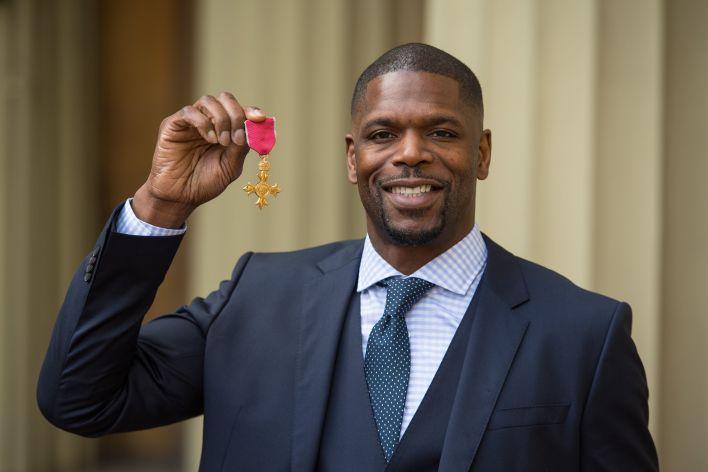 Mark Prince, Mart 2020'de OBE ile ödüllendirildi