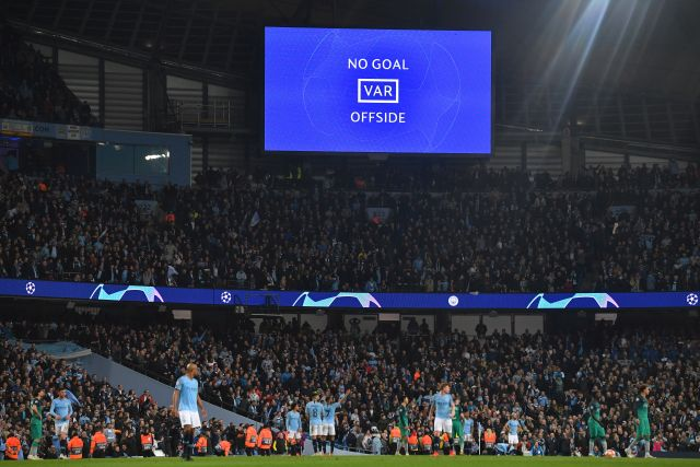 City were denied a memorable win by VAR