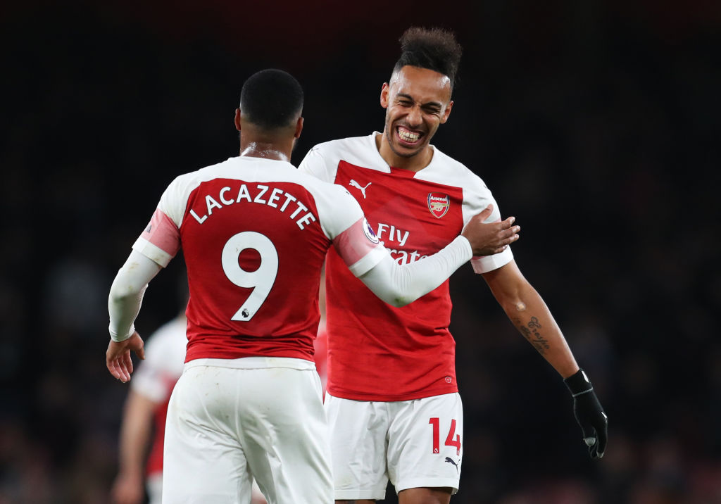 Arsenal's win over Newcastle was their tenth league win in a row