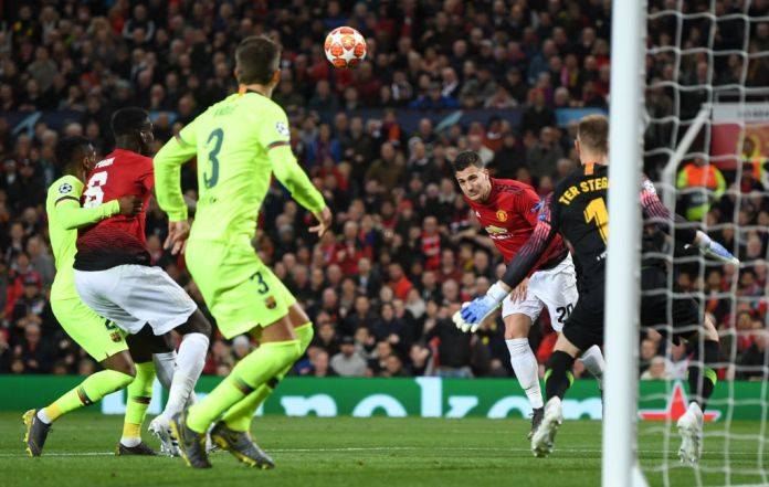 Dalot should have done much better with this header