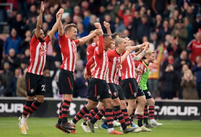The saints have taken a giant step towards securing the Premier League