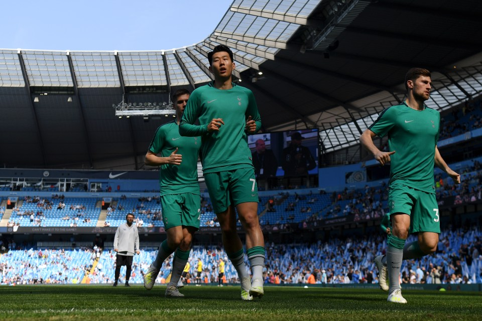 Spurs lost to Man City in the Premier League, but the third place as Arsenal and Chelsea failed to capitalize