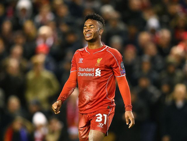 Sterling was constantly criticised during his final months at Liverpool