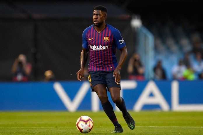Samuel Umtiti struggled with injuries last year