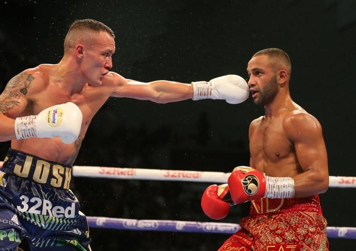 Warrington beat Galahad by split decision last June
