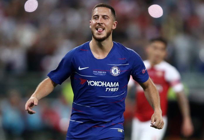 Eden Hazard joined Real Madrid in the summer