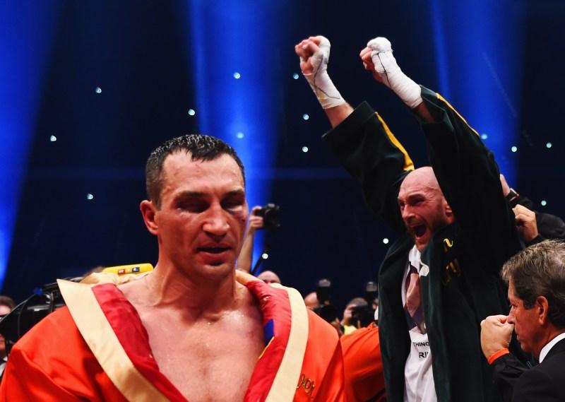 Fury dethroned Klitschko despite being a huge underdog, ending his long reign as champion