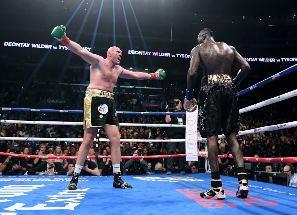 Tyson Fury is the 'lineal' heavyweight champion