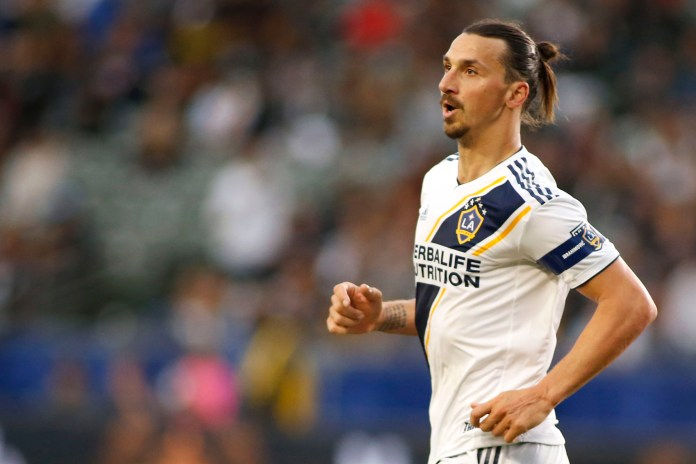 Zlatan Ibrahimovic scored a perfect hat-trick against LAFC