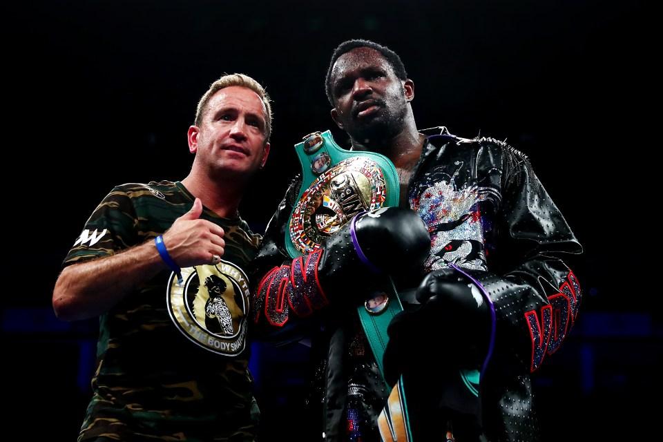 Whyte (26-1, 18 KOs) is now WBC 'interim' champion