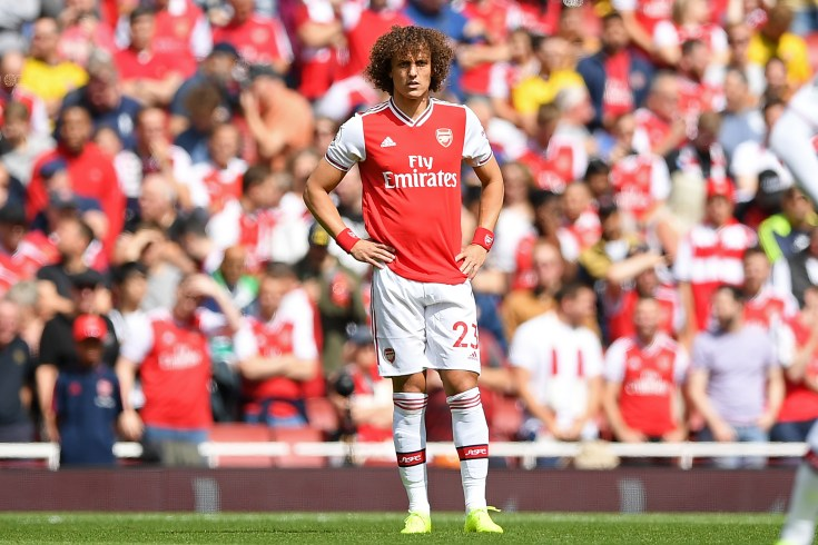 David Luiz has shown his vulnerability in defence this season, but is determined to leave north London a success