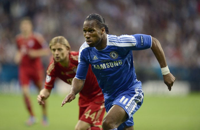 Drogba was Chelsea's hero in 2012 against Bayern