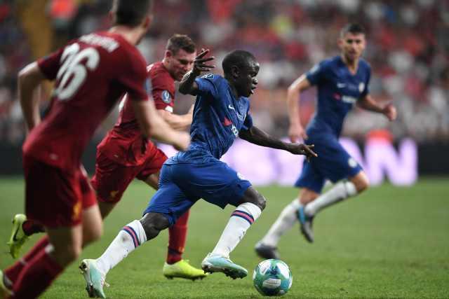 Kante played 120 minutes despite carrying an injury