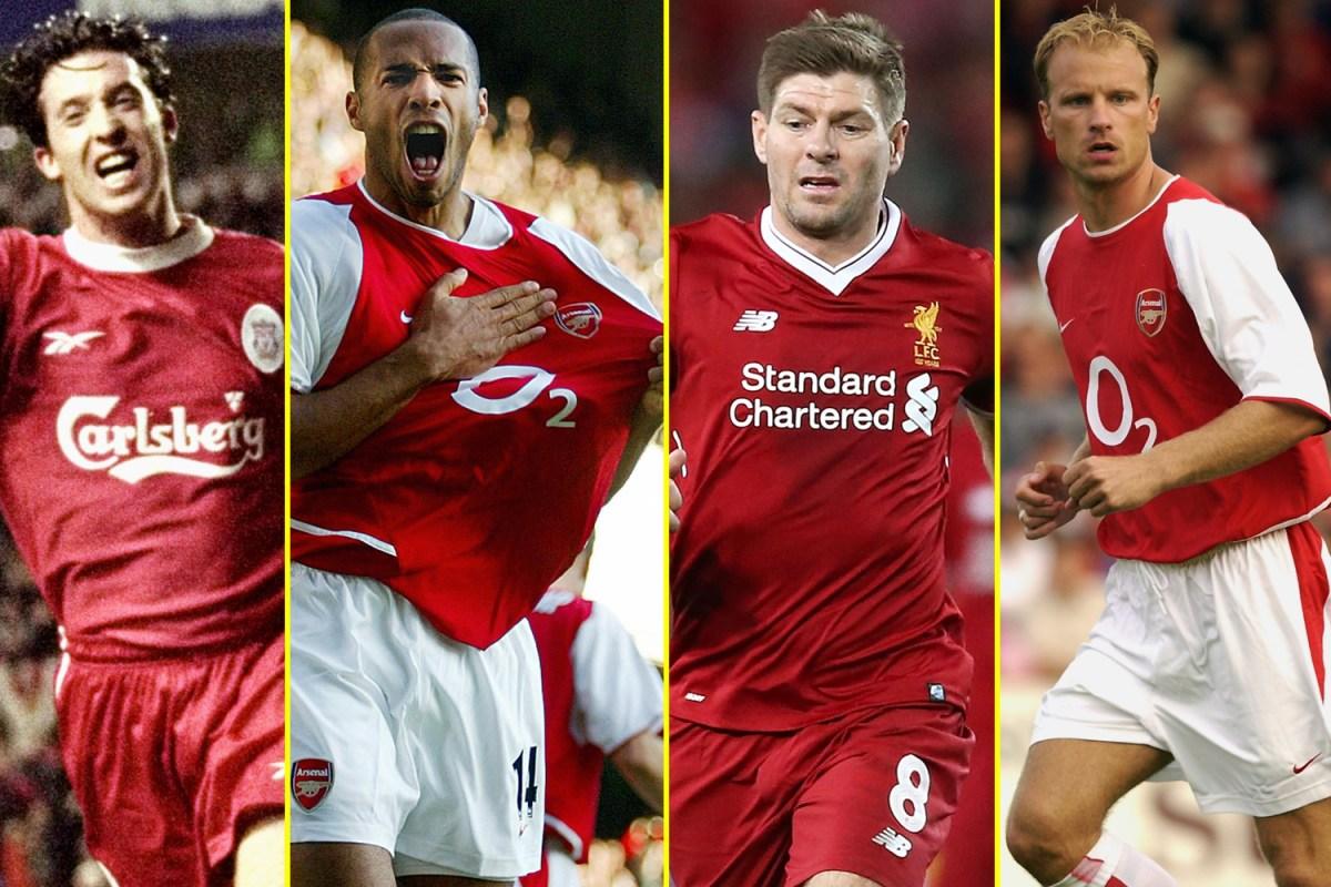Liverpool Vs Arsenal Each Club S Greatest Premier League